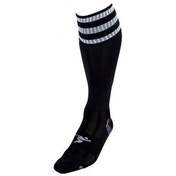 PT 3 Stripe Pro Football Socks Boys Black/White