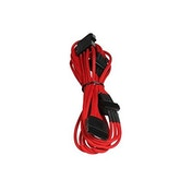 BitFenix Alchemy Molex to 4 x SATA power extension Red