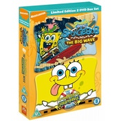 Spongebob Squarepants The Movie/Spongebob And The Big Wave DVD