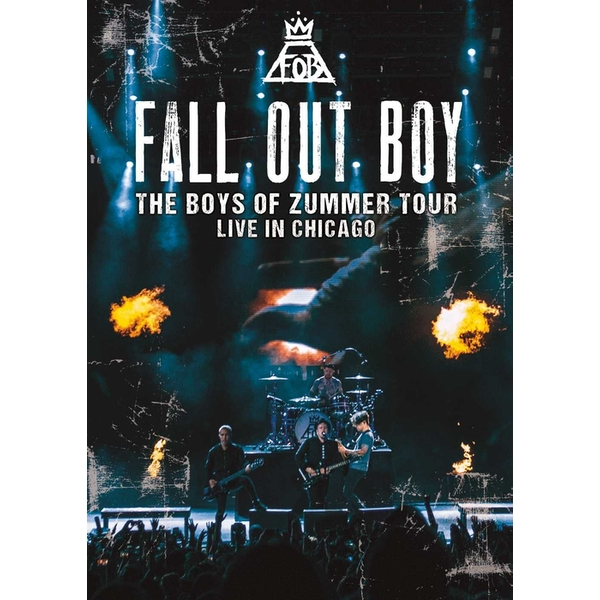 Fall Out Boy - The Boys Of Zummer Tour - Live In Chicago DVD