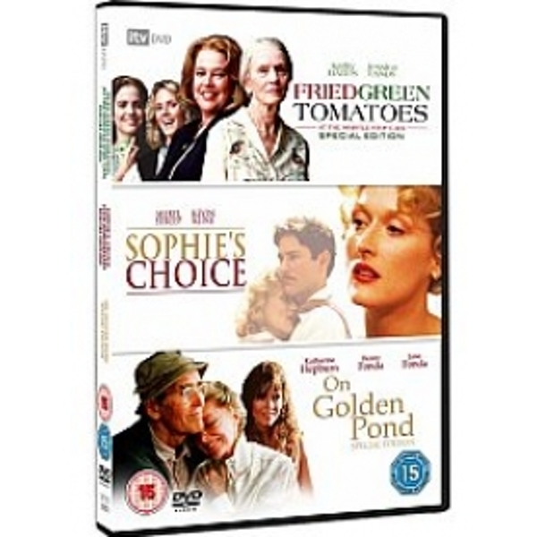 Classic Films Triple - On Golden Pond/Fried Green Tomatoes/Sophies Choice DVD