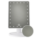 LED Light Up Illuminated Make Up Bathroom Mirror With Magnifier | M&W White - Image 5