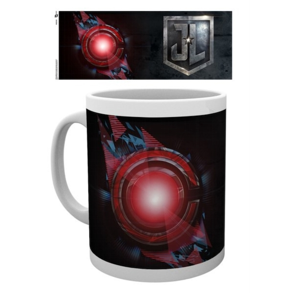 Justice League Movie - Cyborg Logo Black Mug
