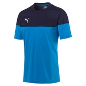Puma Junior ftblPLAY Training Shirt Azur-Peacoat 5-6 Years