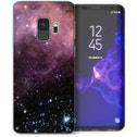 CASEFLEX SAMSUNG GALAXY S9 PURPLE & BLACK CONSTELLATION CASE / COVER (3D)