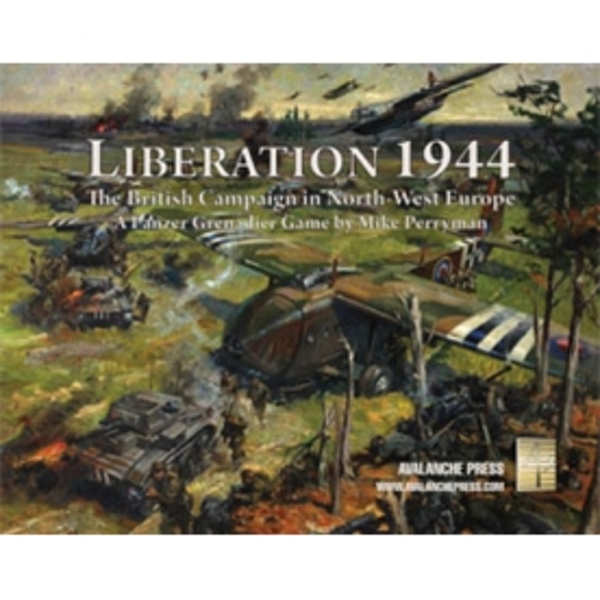 Panzer Grenadier Liberation 1944 Board Game - ozgameshop com