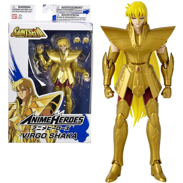 Virgo Shaka (Saint Seiya) Anime Heroes Action Figure