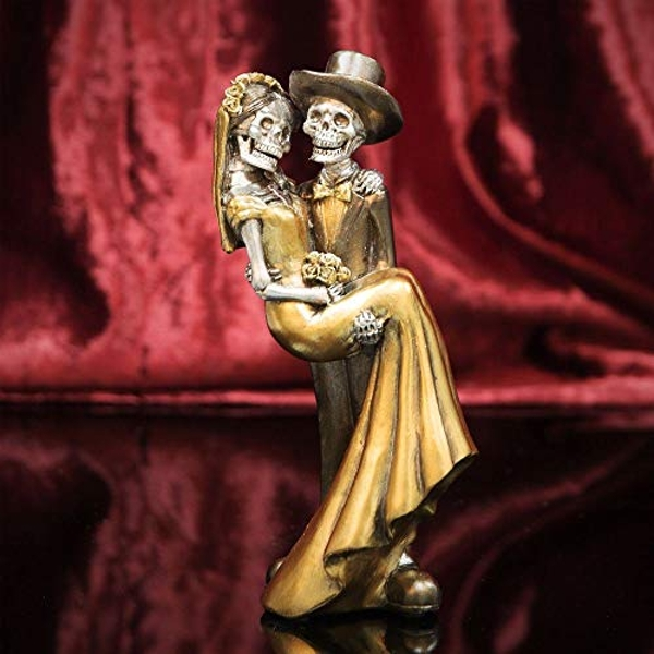 Day Of The Dead - Newlywed Couple Figurine - 20cm