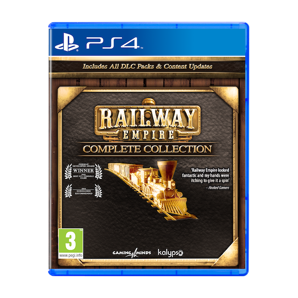 Railway Empire Complete Collection PS4 Game