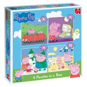 Peppa Pig 4-in-1 Jigsaw Puzzles