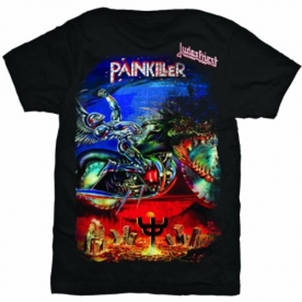Judas Priest Painkiller Mens T Shirt: Medium
