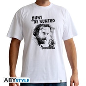 The Walking Dead - Hunt Or Be Hunted Men's Medium T-Shirt - White