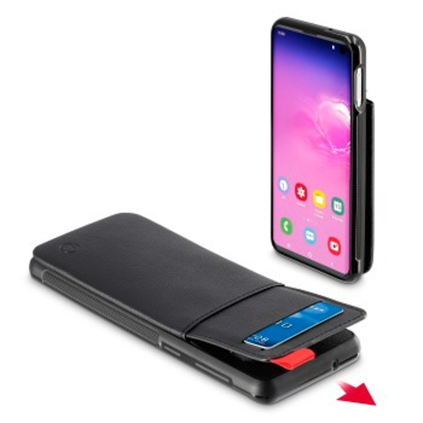 Hama Cover Red Sensation No. 1? for Samsung Galaxy S10e, black/red
