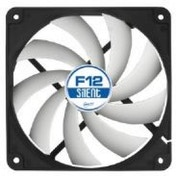 Arctic F12 Silent (120mm) 3-Pin Case Fan with Standard Case