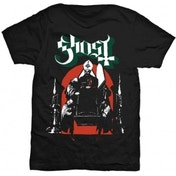 Ghost Procession Mens Blk TS: Small