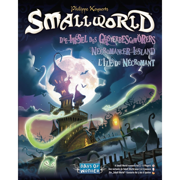 Small World Necromancer Island Expansion