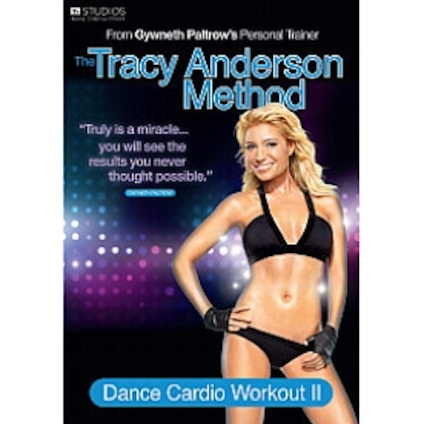 Tracy Anderson Method Dance Cardio Workout II DVD