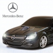 Mercedes SL550 Wireless Mouse - Black