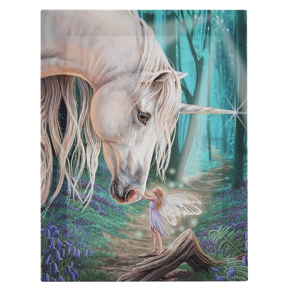 19x25 Fairy Whispers Canvas Plaque by Lisa Parker