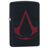 Zippo Assassin's Creed Crest Black Matte Finish Windproof Lighter