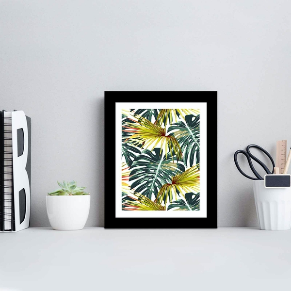 SCT-094 Multicolor Decorative Framed MDF Painting