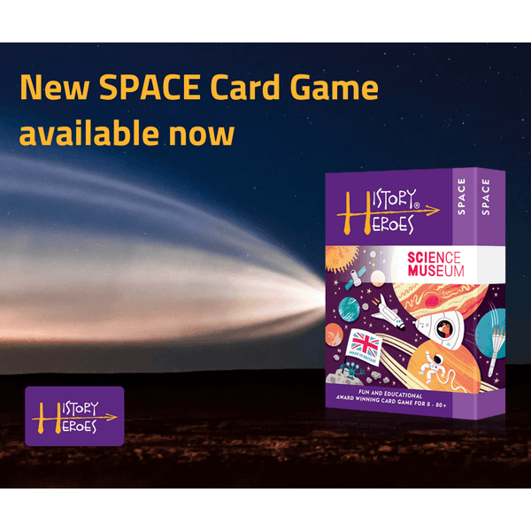 History Heroes - Space Science Museum Card Game