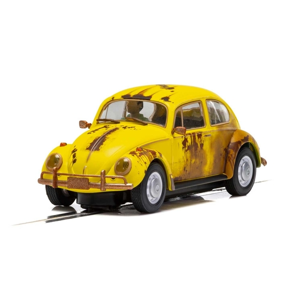 Volkwagen Beetle Rusty Yellow 1:32 Scalextric Classic Street Car - Image 1