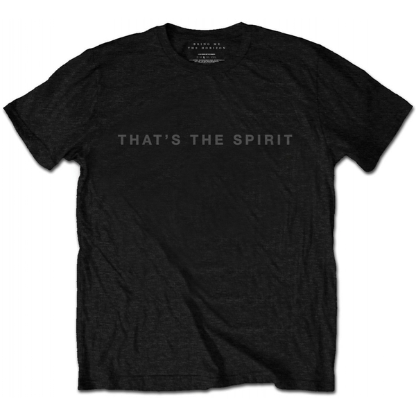 Bring Me The Horizon That's the Spirit Men's Large T-Shirt - Black
