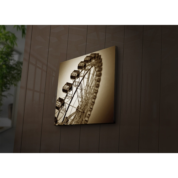 2828?ACT-56 Multicolor Decorative Led Lighted Canvas Painting