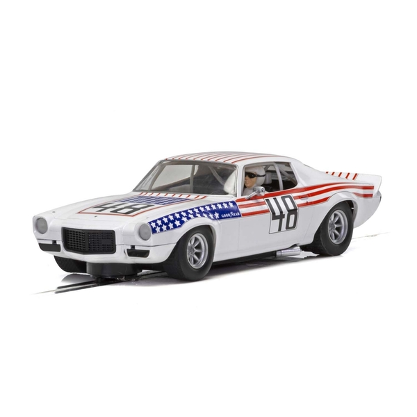 Chevrolet Camaro 1970 Stars n Stripes 1:32 Scalextric Classic Touring Car
