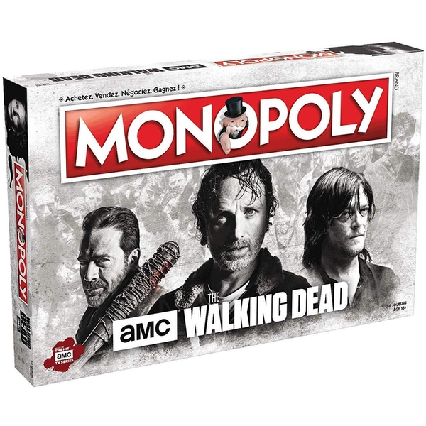 The Walking Dead Monopoly Board Game - Image 1