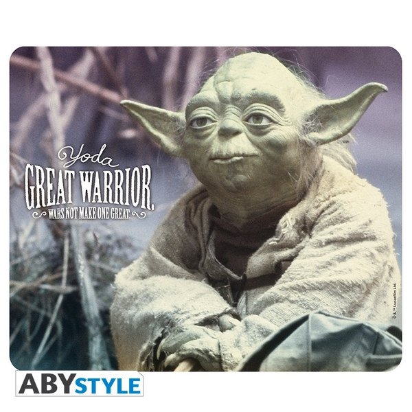 Image of Star Wars - Yoda Great Warrior Mouse Mat