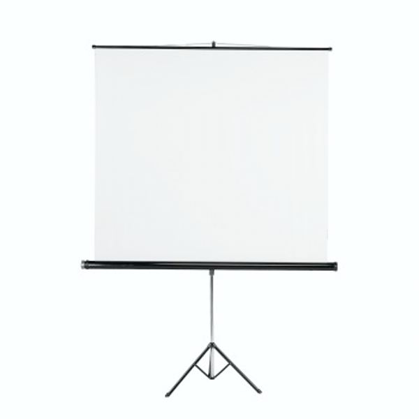 Hama Tripod Projection Screen, 125 x 125, white
