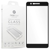 CASEFLEX LG K10 (2018) TEMPERED GLASS (SINGLE) - BLACK EDGE