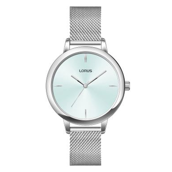 Lorus RG291QX9 Ladies Silver Mesh Bracelet Dress Watch