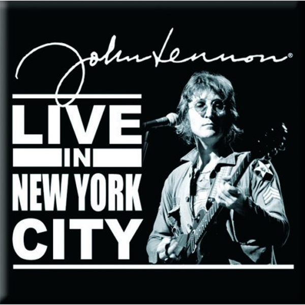 John Lennon - Live in New York City Fridge Magnet