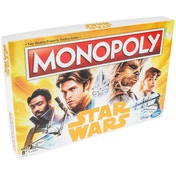 Star Wars Han Solo Monopoly Board Game