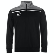 Sondico Precision Quarter Zip Sweatshirt Youth 11-12 (LB) Black/Charcoal