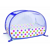 Koo-di Pop Up Travel Bubble Cot Polka Dot Print