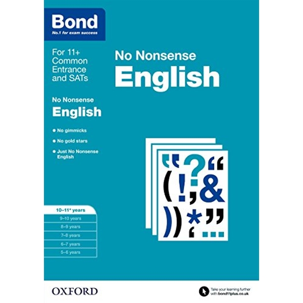 Bond: English: No Nonsense: 10-11+ years by Helen Hadley, Bond, Frances Orchard (Paperback, 2015)