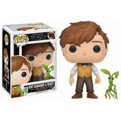 Newt Scamander with Pickett (Fantastic Beasts & Where To Find Them) Funko Pop! Vinyl Figure