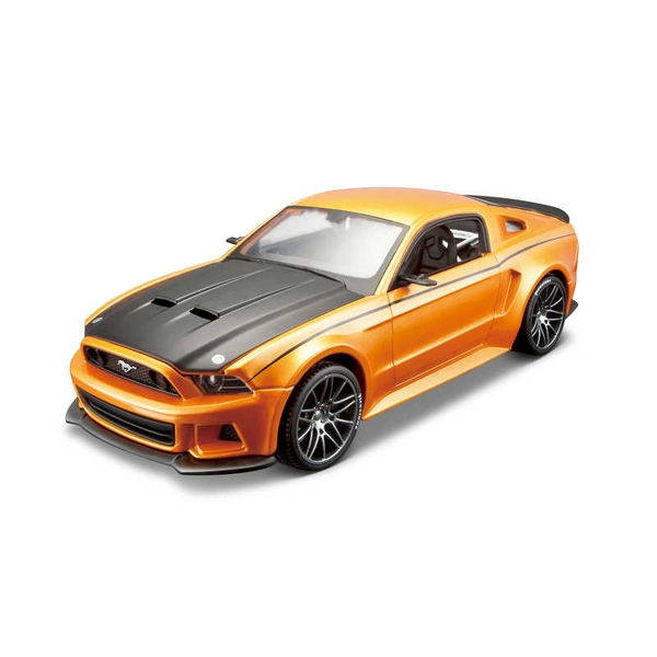 1:24 Ford Mustang Street Racer Diecast Model Kit