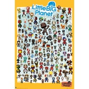 Little Big Planet 3 Characters Maxi Poster