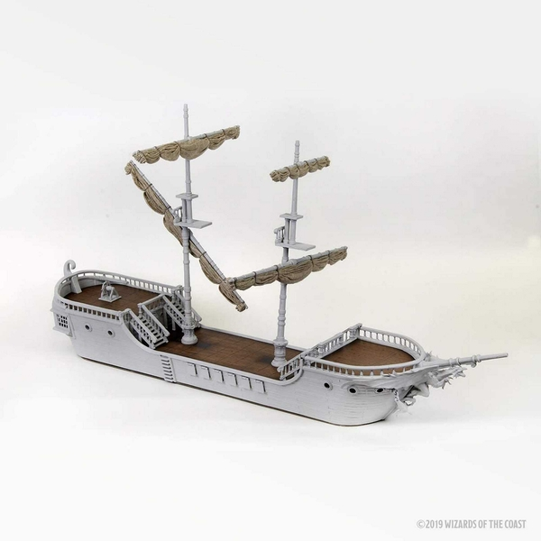 D&D Nolzur's Marvelous Miniatures: The Falling Star Sailing Ship Unpainted