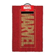 Marvel Comics Gold Main Logo Door Mat