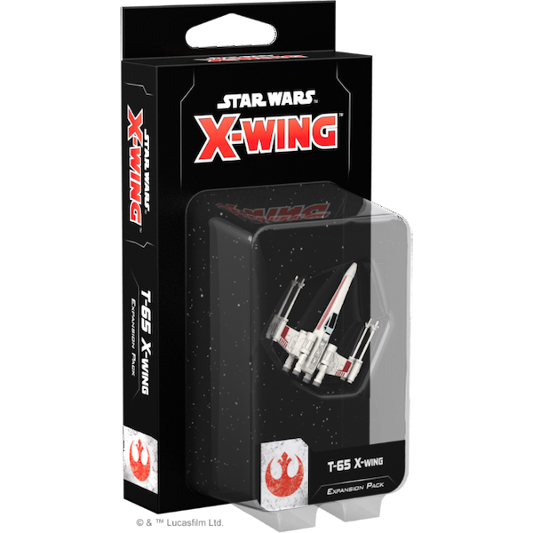 Star Wars X-Wing Second Edition T-65 X-Wing Expansion Pack