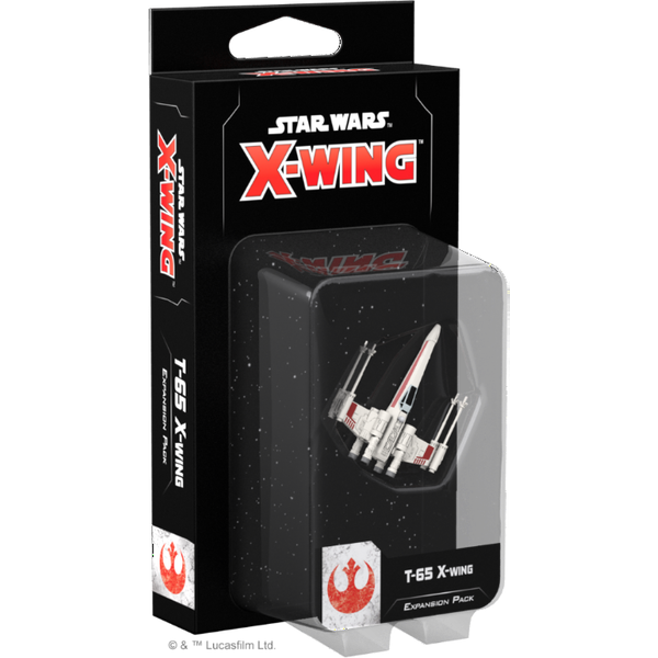 Star Wars X-Wing Second Edition T-65 X-Wing Expansion Pack Board Game