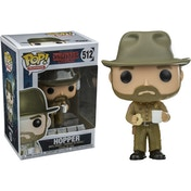 Hopper with Donut (TV Stranger Things) Funko Pop! Vinyl Figure