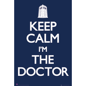 Doctor Who Keep Calm Maxi Poster
