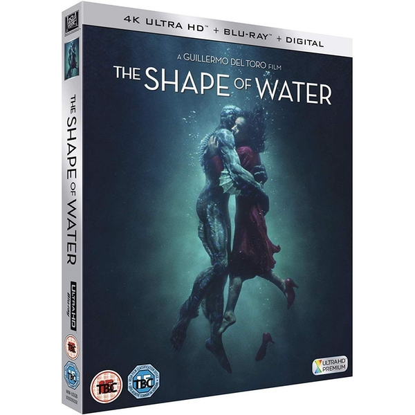 The Shape Of Water 4KUHD + Blu-ray